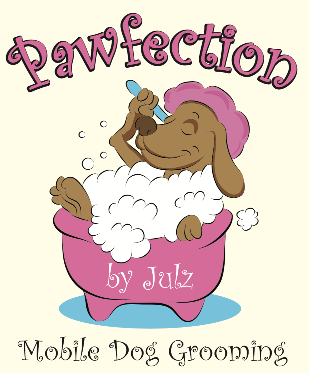 Logo for Pawfection By Julz
